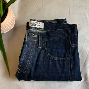 Naked & Famous Kevlar Selvedge Size 29 Jeans